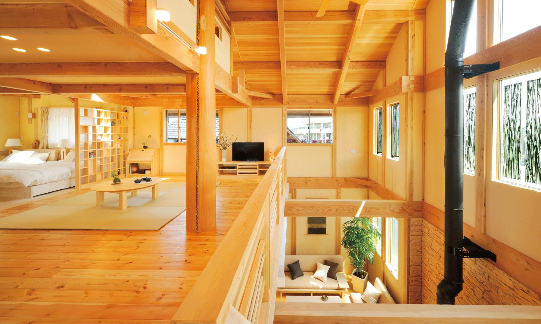 夢ハウスオリジナル薪ストーブ「AURORA」(オーロラ)で暖かく素敵な住まいを。