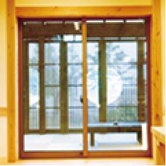 樹脂サッシペアガラス(LOW-Eガラス)