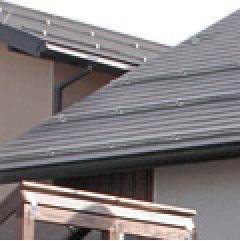 屋根材屋根工事・耐摩カラーGL