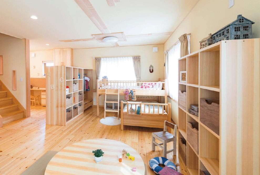 モッカの家は、シックハウスとは無縁な自然素材の家。アトピーやぜんそく、アレルギーのお子様にも安心です。