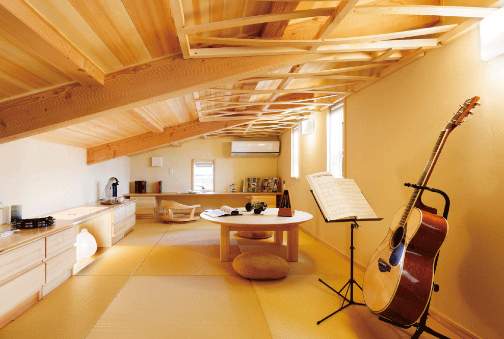 モッカの家のくつろげる趣味の空間