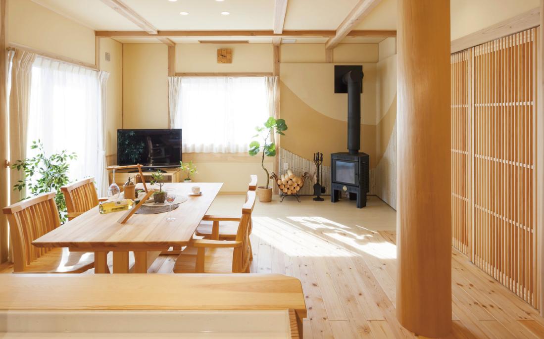 手の届く無垢材の家「tsumiki」(つみき)